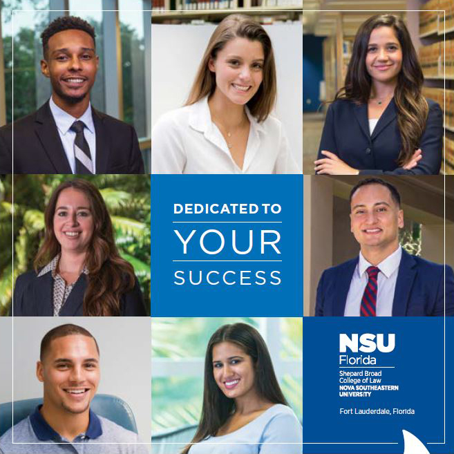 NSU Law Admissions Brochure