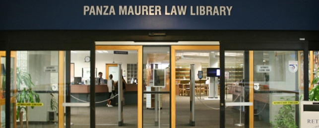 Panza Maurer Law Library