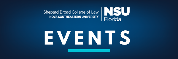 NSU Law Events