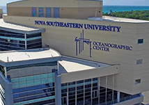 Photograph of the Nova Southeastern University Oceanographic Center