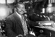 Civil-rights advocate Marcus Garvey 1924. Underwood Archive- via Getty Images